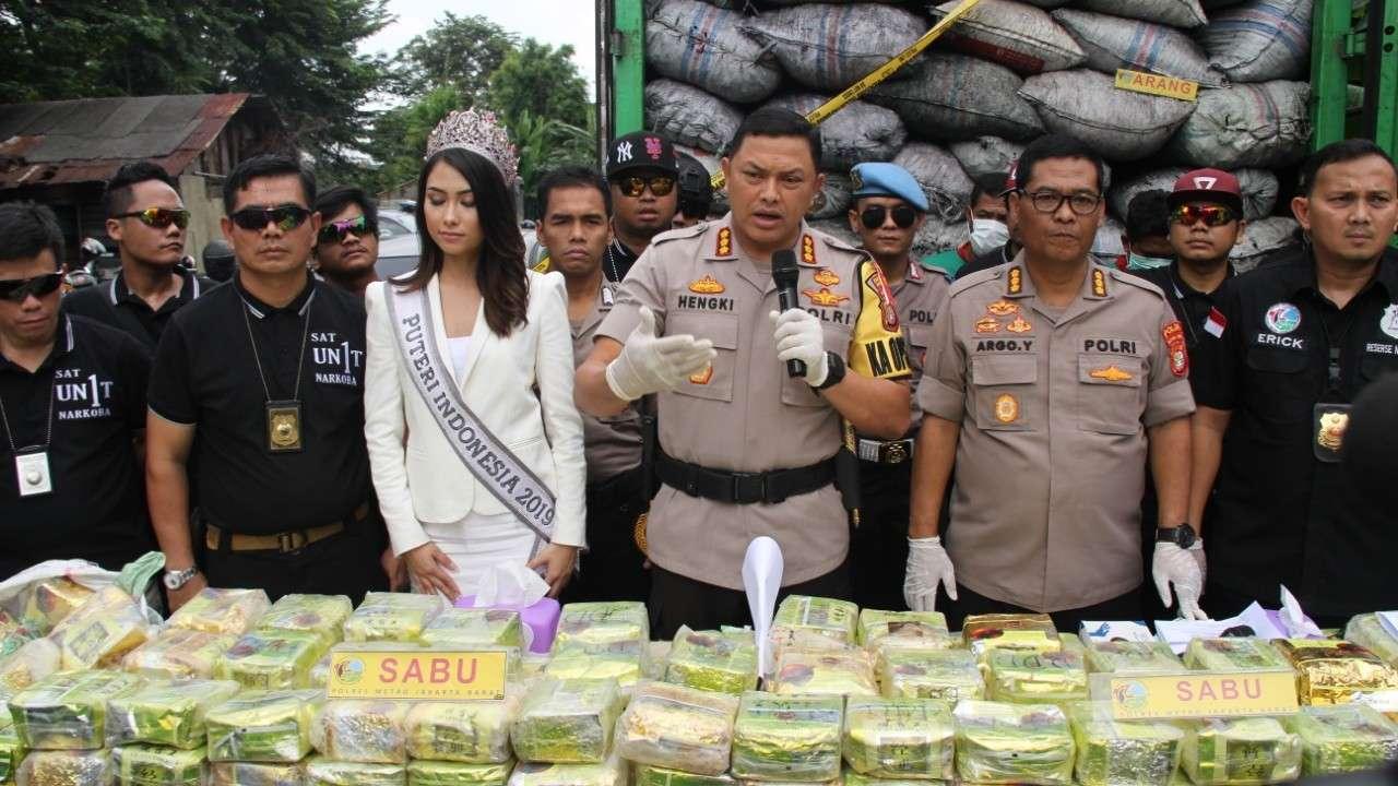 Sebanyak 120 Kg Sabu Disita, Stigma Jakarta Barat Surga Narkoba Harus Dikikis