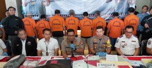 Polres Pelabuhan Tanjung Priok Bongkar Kasus KIR Palsu, Meterai Palsu dan SIO Palsu