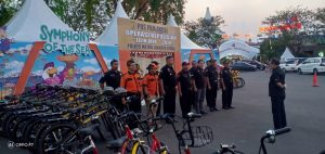 Pengamanan Ops.Lilin Jaya POLRI dibantu SENKOM Mitra Polri dalam Moment Natal dan Tahun Baru