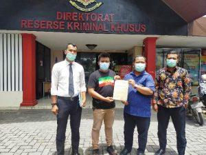 Diduga Korupsi Dana Covid-19, Dinkes Pekanbaru Dilaporkan ke Polda