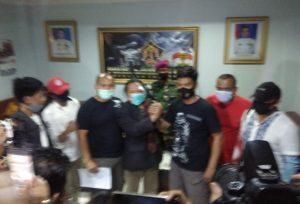 Fakta sebenarnya Perselisihan Rommo Wartawan Bekasi Dengan Suky Sipen LMJ TNI AL