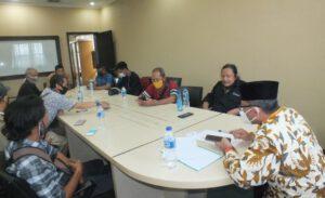 Jalin Sinergitas, FWJ Korwil BEKASI Kota Beraudensi dengan Ketua DPRD Kota Bekasi