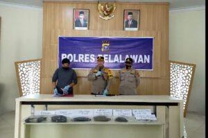 Tim Opsnal Polres Pelalawan berhasil meringkus Pembunuh Siswi SMPN Bernas