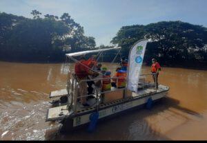 Pemkot Bekasi dengan Waste4Change Resmikan Pelepasan Perdana SeeHamster bersama Bekasi River Cleanup (BRIC), One Earth – One Ocean e.V dan Schwarz Group