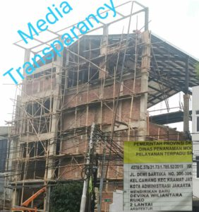 Sudah Direkomtek Bangunan di Jalan Dewi Sartika Tetap Membangun, LSM Graceindo: Harus Bongkar