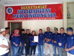 Dengan Missi Mulia Solidaritas Pers Indonesia Mulai Berkibar Di Rokan Hulu