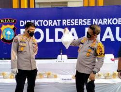 Tiga Perwira Polda Riau Terlibat Kasus Narkoba Dalam waktu 6 bulan