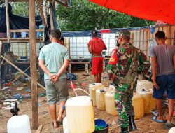 Terungkap, Babinsa Koramil 02/ Rambah Temukan Lokasi Diduga Tempat Penimbunan BBM di Rohul