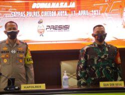Polres Cirebon Kota Bersama Stakeholder Hadiri Launching Aplikasi SIM Nasional PRESISI via Video Conference