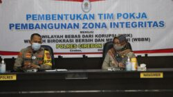 Polres Cirebon Kota Bentuk Tim Pokja Pembangunan Zona Integritas Menuju Wilayah Bebas Korupsi (WBK)
