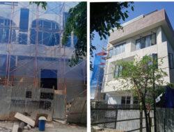 Hebat…!!!  Kendati Sudah di Bongkar Satpol PP, Bangunan  di JL. Kelapa Puan Timur Kelapa Gading  Jakarta Utara  Tetap Berjalan
