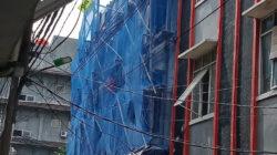 "Kasudin CKTRP Jakarta Utara ""Bungkam"" Bangunan Ruko 4 Unit Tanpa IMB di Jl.Jembatan III Pejagalan Penjaringan"