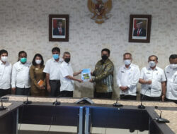 Bupati Samosir Vandiko T. Gultom, ST Melakukan  Audensi Dan Koordinasi Kepada Kepala BBPJN II Medan