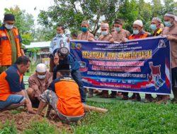 Warga binaan lapas Pasir pengaraian di latih juleha Indonesia.