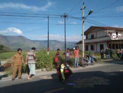 Bus Rombongan Pesta Tabrak Sepeda Motor, Satu Orang Meninggal