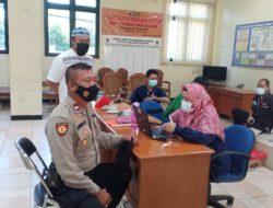 Polsek Cilincing Lakukan Kegiatan Donor Darah Dikantor Kecamatan Cilincing