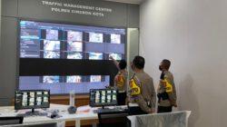 Dirlantas Polda Jawa Barat Kunjungi TMC Polres Cirebon Kota Terkait Kesiapan E-Tle Tahap Kedua