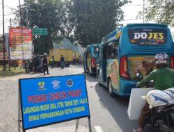 Kasat Lantas Polres Cirebon Kota Laksanakan Penyekatan di Pos Penggung