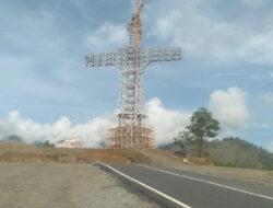 Pemkab Samosir Jadikan Kerangka Patung Tuhan Yesus Ajang Bisnis