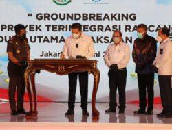 Jaksa Agung Resmikan Mulainya Pembangunan (Ground breaking) Gedung Utama Kejaksaan Agung