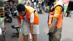 Pelanggar Masker Dari Wilayah Kecamatan Tanah Abang Sebanyak 115 Terjaring
