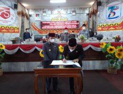 Bupati Apresiasi DPRD Yang Telah Bersinergi Dengan Pemerintah Daerah