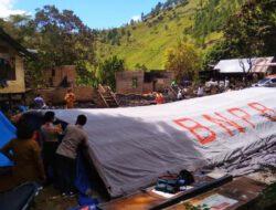 Pasca Kebakaran Rumah di Sosor Nangka Aek Sipitu Dai Sianjur Mula Mula