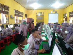 Pastikan Sekolah Menerapkan Prokes, Sekretaris Disdikbud Aceh Timur Gelar Sidak ke SMP N 1 Idi