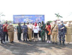Wakil Walikota Jakut Hadiri Kegiatan Serbuan Vaksinasi di Mako Puspomal