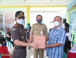 Kajari Dan Wali Kota Jakarta Utara Tinjau Vaksinasi Di RPTRA Pancarona Rorotan Cilincing