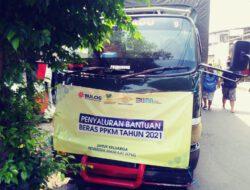 Kec. Matraman Salurkan Bantuan Beras PPKM 2021