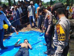 Penemuan Mayat Tenggelam Dengan Kondisi Berdarah di kabupaten ROHUL.