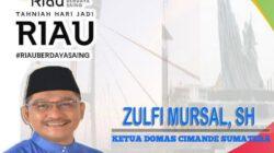 Zulfi Mursal, SH Nahkodai perguruan silat Domas Cimande wilayah Sumatera.