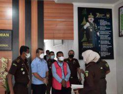 Kajari Pelalawan exsekusi Kepala Desa Merbau.