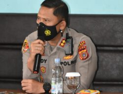 Kapolres Aceh Timur Silaturrahmi Dengan Wartawan