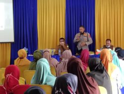 Kapolsek Idi Sosialisasi Vaksinasi Di SMKN 1 Idi