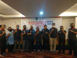 RAKERPROV IPSI Riau tahun 2021 resmi di tutup.