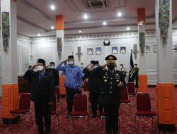 Kapolres Cirebon Kota Bersama Forkopimda Hadiri Upacara Peringatan Hari Kesaktian Pancasila Secara Virtual