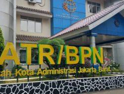 Program PTSL di BPN Jakbar Amburadul
