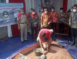 Gubernur DKI JakartaLetakkan Batu Pertama Pembangunan GBKP Tugu